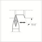 ■京セラ スモールツール用ホルダ SVVBN2020K-11 京セラ(株)[TR-1532952]