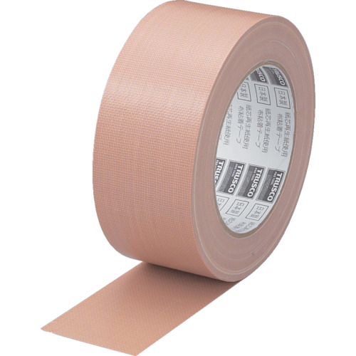 ■TRUSCO 布粘着テープエコノミータイプ 幅50mmX長さ25m(30巻) GNT-50E トラスコ中山[TR-1576526×30]