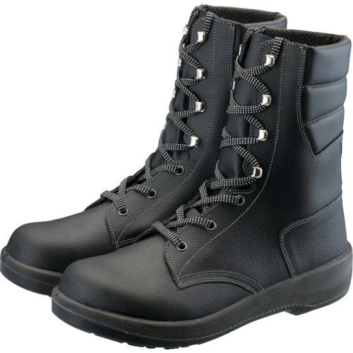 ■シモン 安全靴 長編上靴 7533黒 25.5cm 7533N-25.5 (株)シモン[TR-1578588]