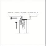■京セラ スモールツール用ホルダ SABSR2020K-40F 京セラ(株)[TR-1752057]