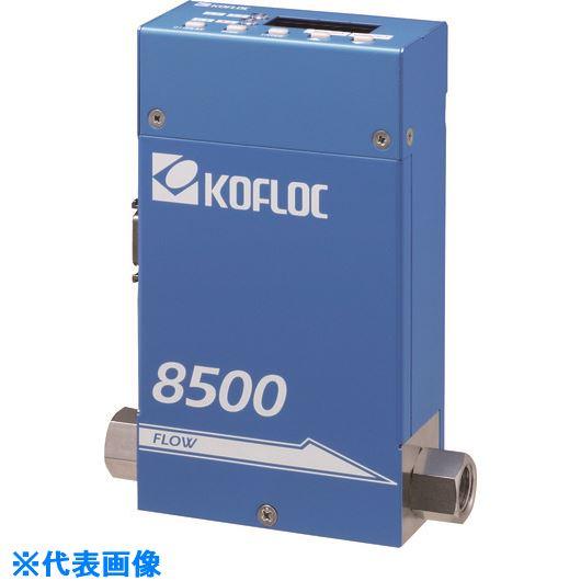 〔品番:8500MC-O-RC1/4-O2-1SLM-1-1-20C〕[TR-2030387][法人・事業所限定][外直送元] SERIES 表示器付マスフローコントローラ/メータ ■コフロック 8500 MODEL