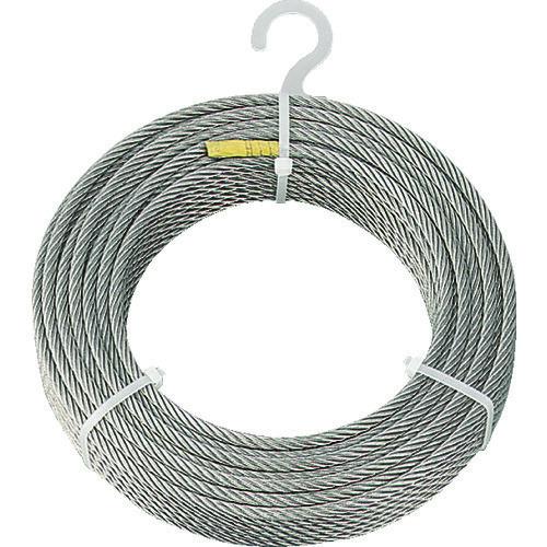 ■TRUSCO ステンレスワイヤロープ Φ6.0mmX30m CWS-6S30 トラスコ中山(株)[TR-2134888]