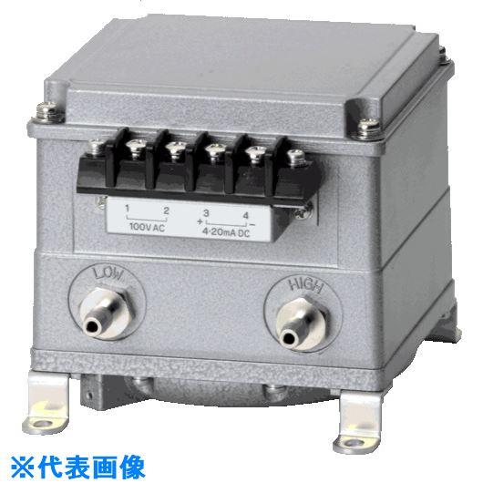 伝送器 100kPa 金属管用 4線式 〔品番:EMT1B1FME100〕[TR-2234703][送料別途見積り][法人・事業所限定][外直送] EMT1B 4-20mA ■マノスター