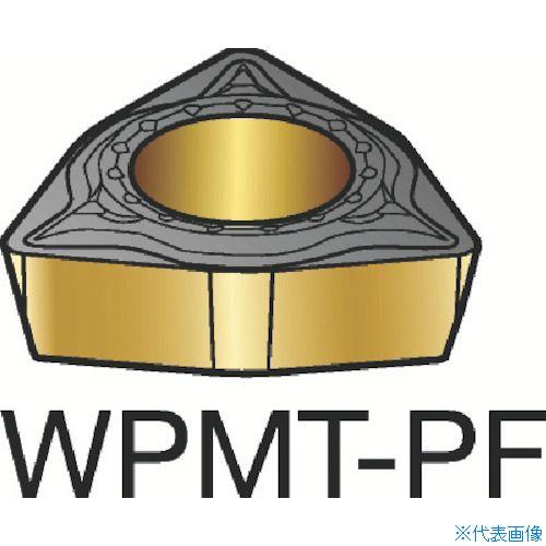 ■サンドビック コロターン111 旋削用ポジ・チップ 5015 5015 10個入 〔品番:WPMT〕[TR-2265087×10]