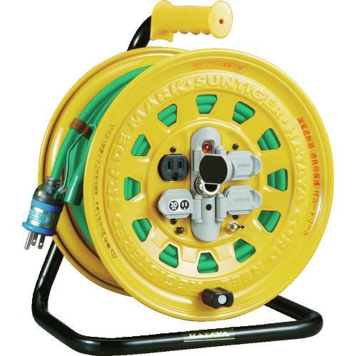 ■TRUSCO プロソフトケーブルコードリール 30m 漏電防止付き BG-301KXT トラスコ中山(株)[TR-2289270]