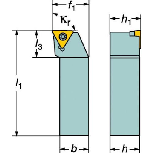 ■サンドビック コロターン107 ポジチップ用シャンクバイト  〔品番:STFCL〕[TR-2518015]
