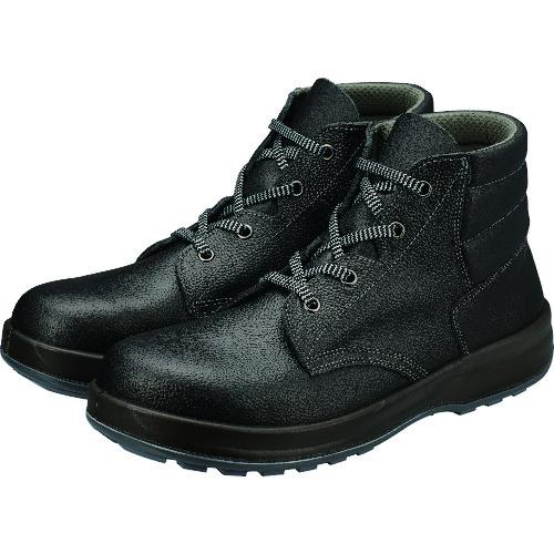 ■シモン 安全靴 編上靴 SS22黒 24.5cm SS22-24.5 シモン[TR-2528673]