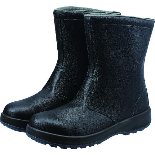 ■シモン 安全靴 半長靴 SS44黒 25.0cm SS44-25.0 シモン[TR-2528908]