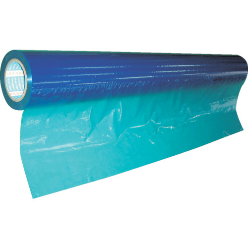 ■スミロン 表面保護フィルムPE2本入 ブルー 1250mm×100m E-212BS-1250 (株)スミロン[TR-2790173] [個人宅配送不可]