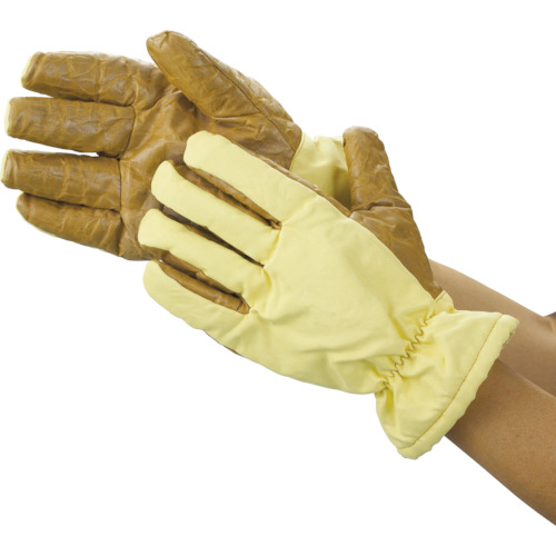 ■TRUSCO クリーンルーム用耐熱手袋 26CM フリーサイズ TPG-650 トラスコ中山(株)[TR-2869047]
