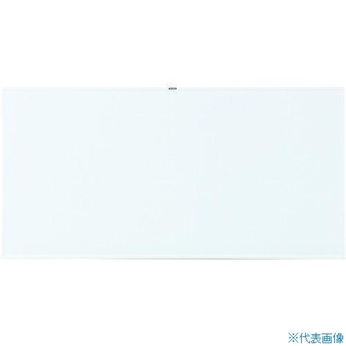 ■TRUSCO スチール製ホワイトボード 白暗線 900X1800 WGH-102SA-W トラスコ中山(株)[TR-2884895] [個人宅配送不可]