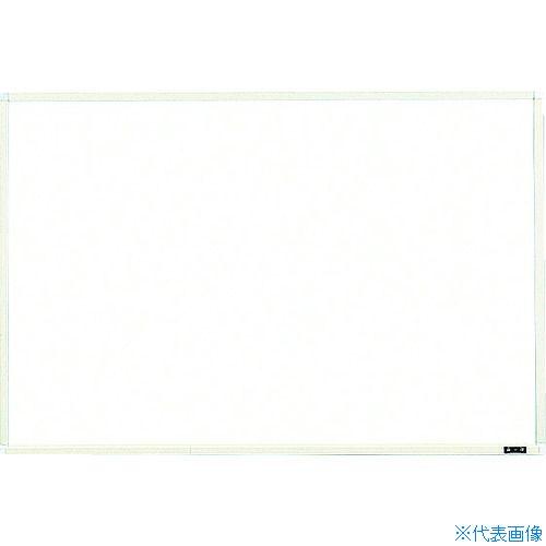 ■TRUSCO スチール製ホワイトボード 白暗線 900X1200 WGH-112SA-W トラスコ中山(株)[TR-2884909] [個人宅配送不可]