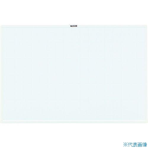 ■TRUSCO スチール製ホワイトボード 白暗線 600X900  〔品番:WGH-122SA-W〕[TR-2884917]【大型・重量物・個人宅配送不可】