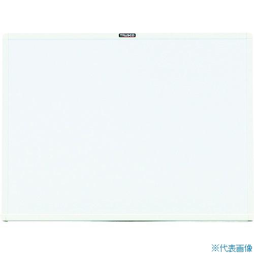 ■TRUSCO スチール製ホワイトボード 白 450X600 WGH-132S-W トラスコ中山(株)[TR-2884925]