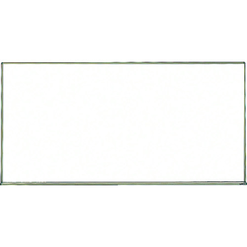 ■TRUSCO スチール製ホワイトボード 白暗線 900X1800 WGH-102SA-BL トラスコ中山(株)[TR-2884941] [個人宅配送不可]