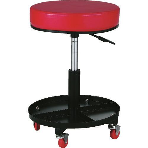 ■TRUSCO 工具入れ付作業椅子 Φ370XH440ー555 TWC-SR トラスコ中山(株)[TR-2889218]