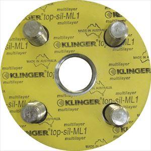 ■クリンガー フランジパッキン(5枚入り) ML1-10K-40A  〔品番:ML1-10K-40A〕[TR-3202755]