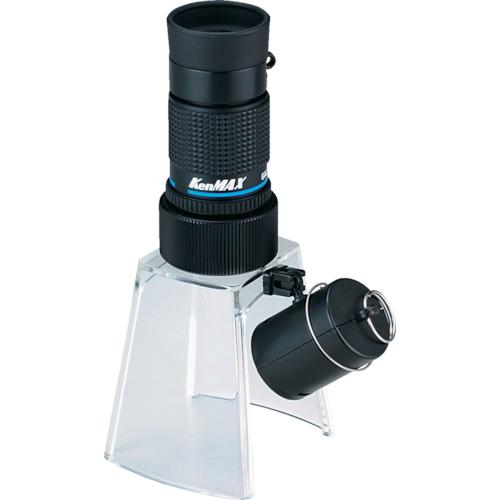 ■池田レンズ 顕微鏡兼用遠近両用単眼鏡 KM-412LS [TR-3213161]