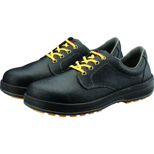 ■シモン 静電安全靴 短靴 SS11黒静電靴 23.5cm SS11BKS-23.5 シモン[TR-3241611]