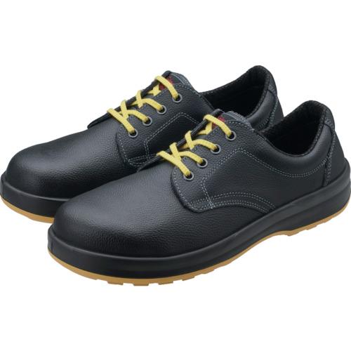 ■シモン 静電安全靴 短靴 SS11黒静電靴 25.5cm SS11BKS-25.5 シモン[TR-3241653]
