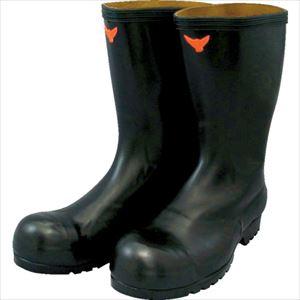 ■SHIBATA 安全耐油長靴(黒)〔品番:SB021-27.0〕[TR-3242340]