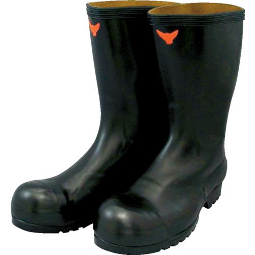 ■SHIBATA 安全耐油長靴(黒)〔品番:SB021-28.0〕[TR-3242358]