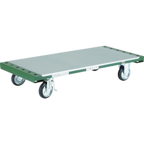 ■TRUSCO 長尺用運搬車 平台車型 1300X602 TDPT-250 トラスコ中山[TR-3365417] [送料別途お見積り]