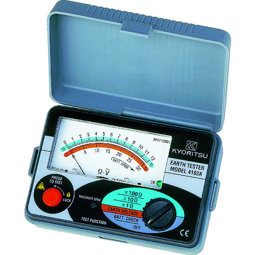 ■KYORITSU 4102A アナログ接地抵抗計(ソフトケース) MODEL4102A 共立電気計器[TR-3375773]