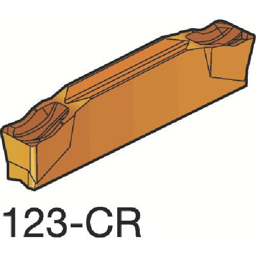 ■サンドビック コロカット2 突切り・溝入れチップ 1105(10個) N123G2-0300-0003-CR [TR-3393020×10]