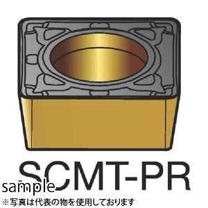 ■サンドビック コロターン107 旋削用ポジ・チップ 4235(10個) SCMT120412-PR [TR-3393992×10]