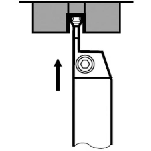 タンガロイ ねじ切り工具 工作機用ねじ切り工具 新入荷 売り込み 流行 ■タンガロイ CGSSL2020-40D 外径用TACバイト TR-3501981