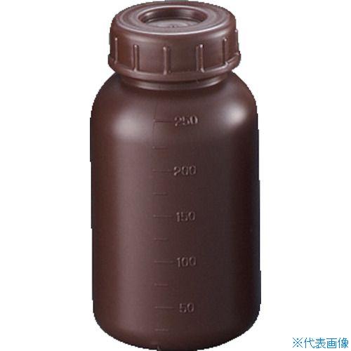 ■サンプラ PE広口遮光瓶 250ml (100個入) 2911 [TR-3540901]