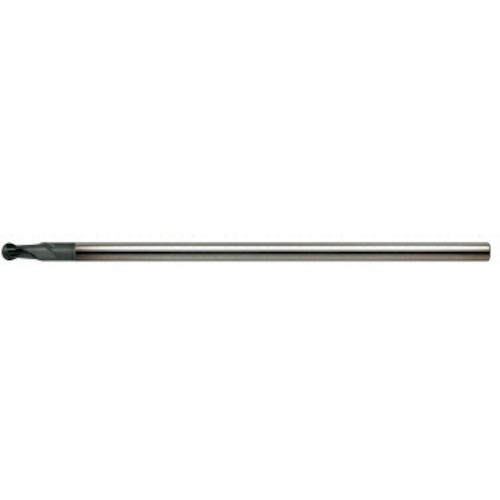 ■ユニオンツール 超硬エンドミル ロングネックボール R1×有効長40 DCLB2020-0400 [TR-3573494]