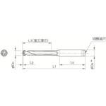 ■京セラ ドリル用ホルダ SS12-DRC105M-5 京セラ(株)[TR-3576493]