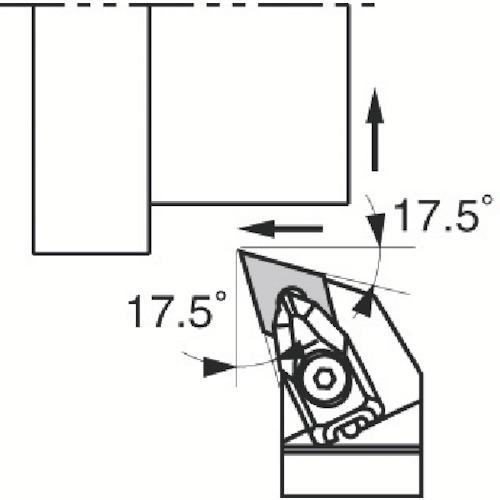 ■京セラ 外径加工用ホルダ DDHNR2525M-1504 京セラ(株)[TR-3580253]