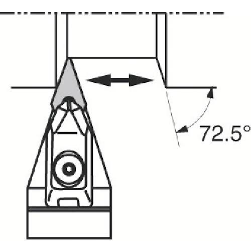 ■京セラ 外径加工用ホルダ DVVNN2525M-16 京セラ(株)[TR-3580407]