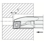 ■京セラ 内径加工用ホルダ A25S-SCLPL09-27AE 京セラ(株)[TR-3581993]