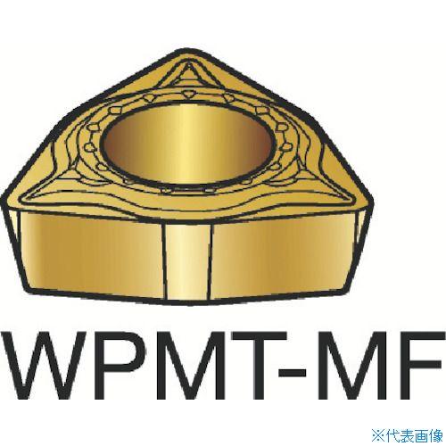 ■サンドビック コロターン111 旋削用ポジ・チップ 1125 1125 10個入 〔品番:WPMT〕[TR-3583236×10]