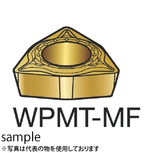 ■サンドビック コロターン111 旋削用ポジ・チップ 1125 1125 10個入 〔品番:WPMT〕[TR-3583309×10]