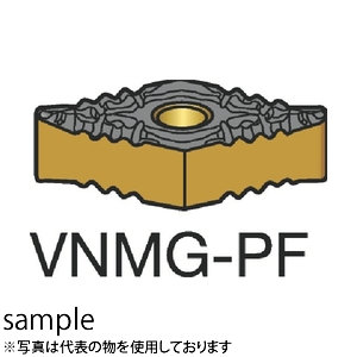 ■サンドビック T-MAX P 旋削用ネガ・チップ 1515 1515 10個入 〔品番:VNMG〕[TR-3583619×10]