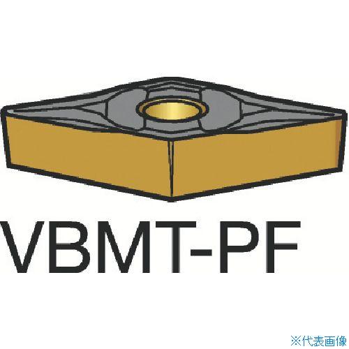 ■サンドビック コロターン107 旋削用ポジ・チップ 1515 1515 10個入 〔品番:VBMT〕[TR-3584305×10]