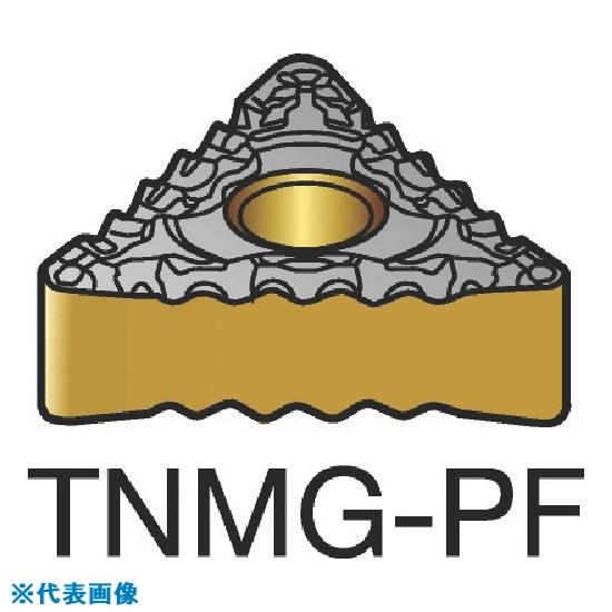 ■サンドビック T-MAX P 旋削用ネガ・チップ 1515 1515 10個入 〔品番:TNMG〕[TR-3585549×10]