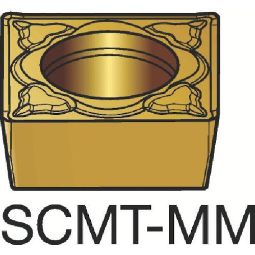 ■サンドビック コロターン107 旋削用ポジ・チップ 1115 1115 10個入 〔品番:SCMT〕[TR-3587576×10]