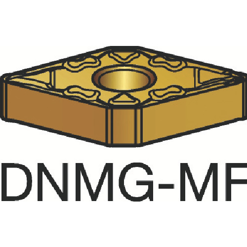 ■サンドビック T-MAX P 旋削用ネガ・チップ 1115 1115 10個入 〔品番:DNMG〕[TR-3590038×10]