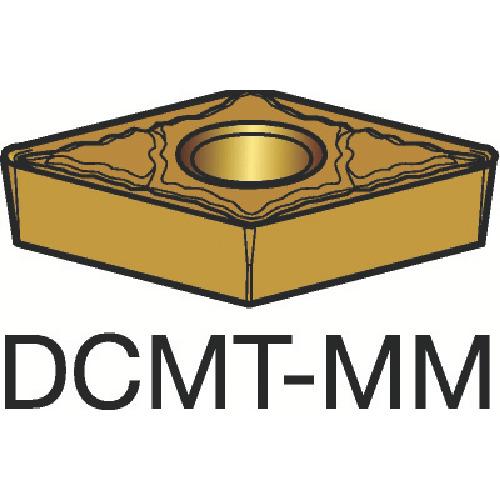 ■サンドビック コロターン107 旋削用ポジ・チップ 1125(10個) DCMT [TR-3590828×10]