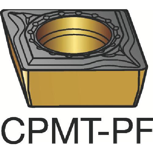 ■サンドビック コロターン111 旋削用ポジ・チップ 1515 1515 10個入 〔品番:CPMT〕[TR-3591468×10]