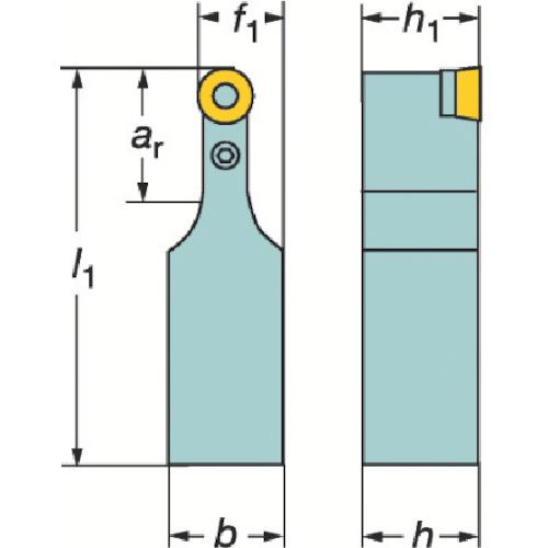 ■サンドビック T-MAX P ポジチップ用シャンクバイト  〔品番:PRDCN〕[TR-3627012]
