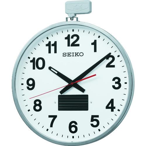 <title>セイコークロック 激安通販 時計 ■SEIKO ソーラー屋外用大型電波掛時計 527×450×78 金属枠 品番:SF211S TR-3642011</title>