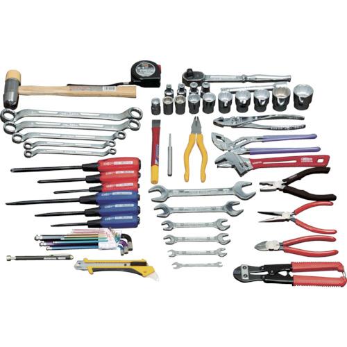 ■TRUSCO ピカイチ 産業用機械工具セット 49点  〔品番:PK-S1〕[TR-3655849]