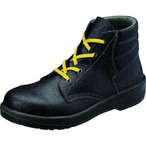 ■シモン 静電安全靴 編上靴 7522黒静電靴 26.0cm 7522S-26.0 (株)シモン[TR-3680967]